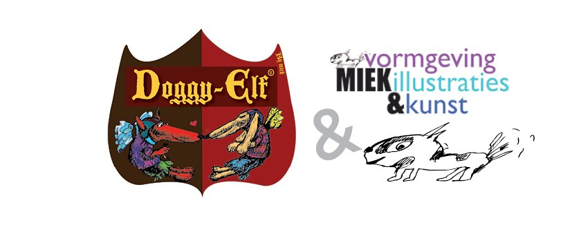 Miek Vormgeving Illustraties & Kunst & Doggy-Elf