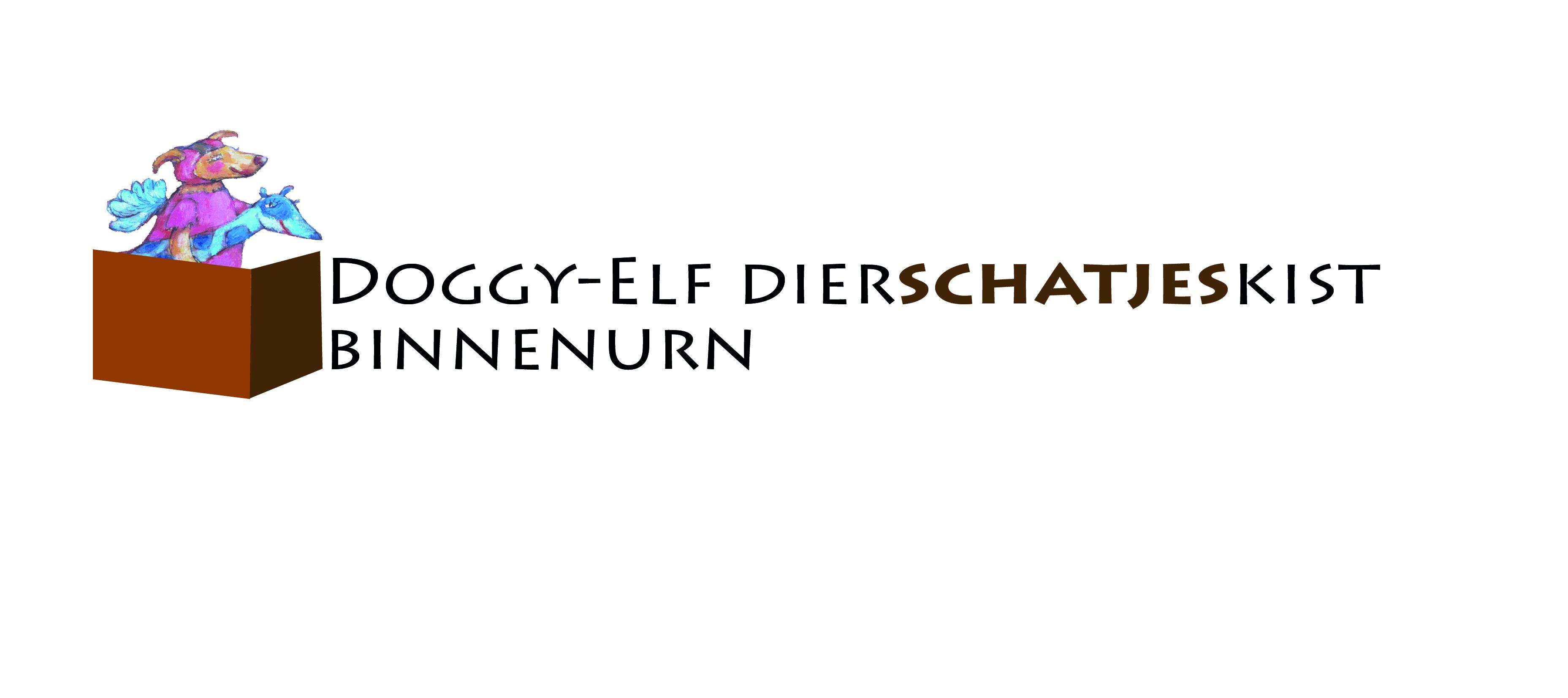 Doggy-Elf dierschatjeskist - binnenurn logo