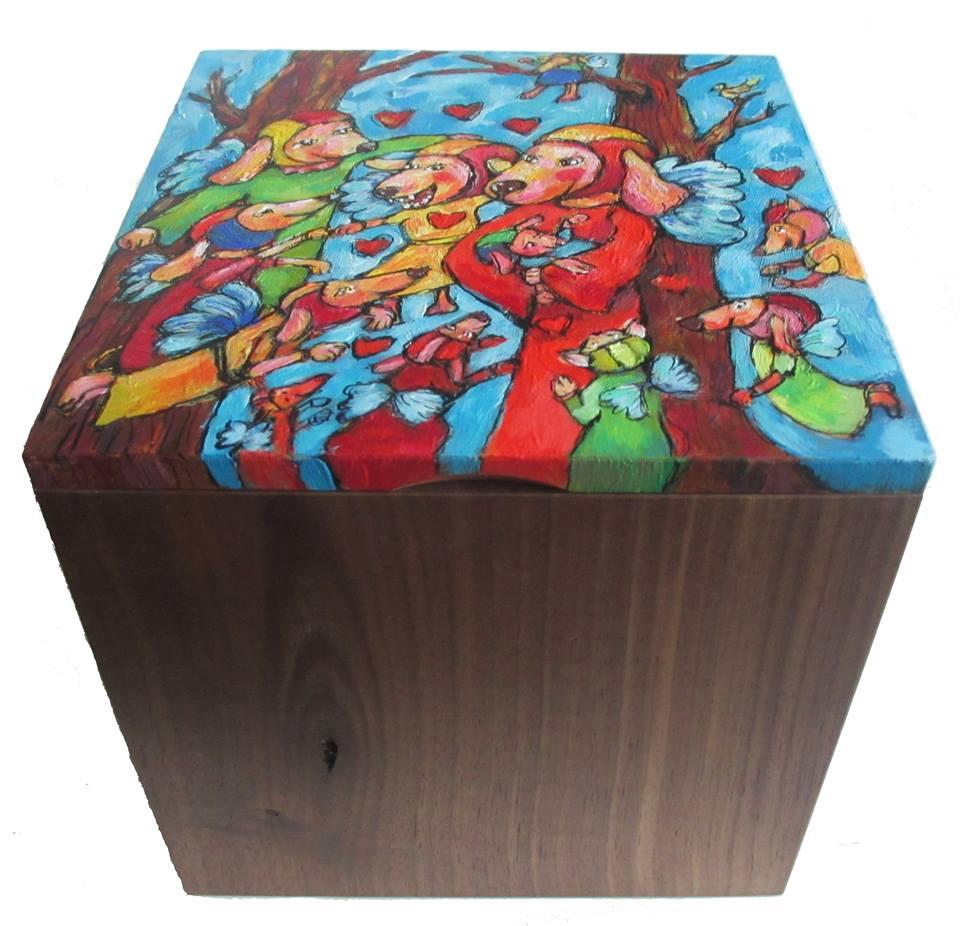 Doggy-Elf voorbeeld urn